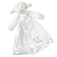 "14"" Christening Lamb Blanket (3 pieces)"