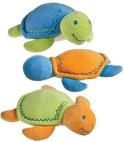 Stuffed Turtles made from 100% organic cotton, sold in bulk at below wholesale