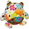 """Multicolored Stuffed Toy Cat in Bulk - 4"" high"""