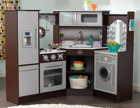 play kitchen with sounds and lights kidkraft ultimate corner play kitchen cheapest prices 9143
