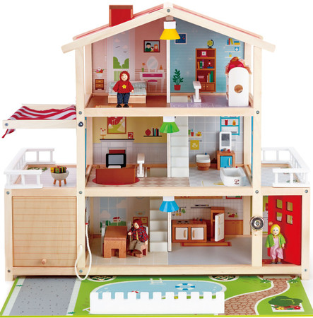 Hape Doll Family Mansion On Sale Free Shipping