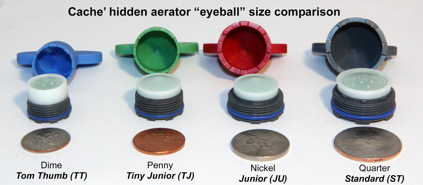 Cache Hidden Faucet Aerator Sizing How To Guide.
