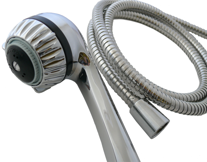Handheld shower heads have advantages for limited mobility or for cleaning needs
