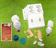 Energy Saving Kit with CFL Lighting | Insulation | Child Proofing