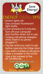 Energy Conservation Magnet Top 10 Saving Tips