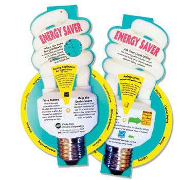 Excellent energy saving tips, in a fun spinning wheel format!  Great for raising awareness or for reminding a household how to save energy.