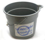 Custom Cold Water Catcher Bucket | Shower Warm Up Water Saver | Custom Label