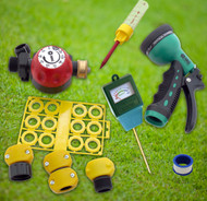 Complete Lawn and Garden Outdoor Kit - Hose Repair | Sprinkler Timer | Moisture Sensor