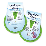 Use Water Wisely Wheel Guide ~ Spinning Info & Fun Facts | Educational Learning Tool | conservation hints and tips