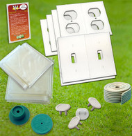 Weatherization Kit | Window Sealer |Filter Whistle |Gasket Cover