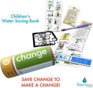 Children's Water Conservation Saving Bank Eco Kit for Kids
