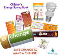 Energy Saving Bank Eco-Kit for Kids - CFL Bulb Included