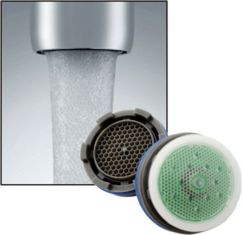 Neoperl 1 5 Gpm Cache Aerator Low Flow Pressure Compensating Kitchen Bathroom Faucet Aerator Watersense Listed