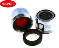 2.2 gpm Neoperl  Full Flow Aerated Stream Faucet Aerator