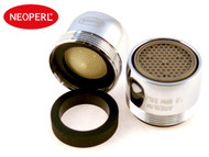 1.0 gpm Neoperl Non-Pressure Compensating / Aerated Stream Bathroom Faucet Aerator | Low Flow Control
