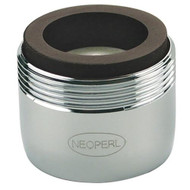 Pressure compensating Neoperl 0.5 gpm aerator.  A faucet fixture that saves water.