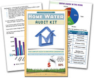Custom Home Water Audit Book | Full Color Book, Common Sense Ways to Save Water in your house