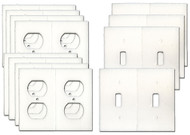 Electrical Outlet and Light Switch plate Gasket Insulator Kit