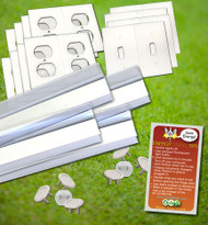 Draft Stopper Kit - Door Sweeps | Foam Gaskets | Electrical Outlet Safety Caps