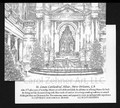 St Louis Cathedral Altar Christmas Card