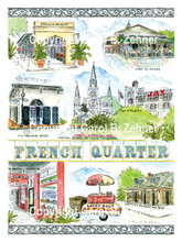 French Quarter Neighborhood, New Orleans, LA