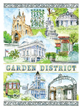 Garden District Neighborhood, New Orleans, LA