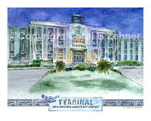 New Orleans Lakefront Airport Terminal