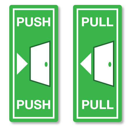 Door Push Pull Amp The Design Offers A Handle To The Quot Pull