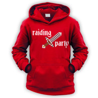 Raiding Party Kids Hoodie (Unisex)