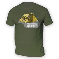 Professional Gaming Camper Mens T-Shirt