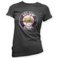 Anti Camping Gaming Woman's T-Shirt