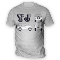 YJ Blueprint Mens T-Shirt