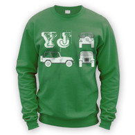 YJ Blueprint Sweater