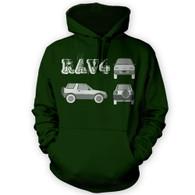 Rav4 Blueprint Hoodie