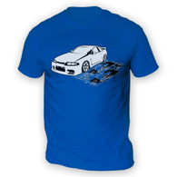 Skyline R33 Mens T-Shirt
