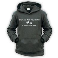 They Are Not Dog Hairs Kids Hoodie