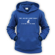 They Are Not Rabbit Hairs Kids Hoodie