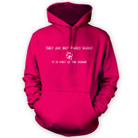They Are Not Ferret Hairs Hoodie