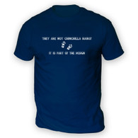 They Are Not Chinchilla Hairs Mens T-Shirt