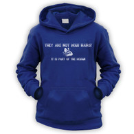 They Are Not Degu Hairs Kids Hoodie