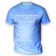 They Are Not Gerbil Hairs Mens T-Shirt