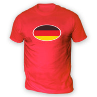 German Flag Mens T-Shirt