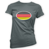 German Flag Woman's T-Shirt