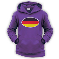 German Flag Kids Hoodie