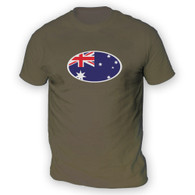 Australian Flag Mens T-Shirt