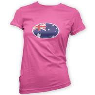 Australian Flag Woman's T-Shirt