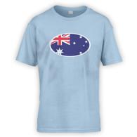 Australian Flag Kids T-Shirt