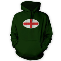 English Flag Hoodie