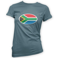South African Flag Woman's T-Shirt