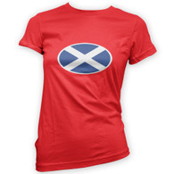 Scottish Flag Woman's T-Shirt